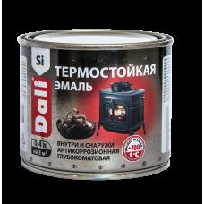Эмаль термостойкая DALI черная 0,4л (Рогнеда)
