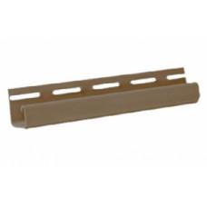 J-профиль к фасадной панели коричневый 3м