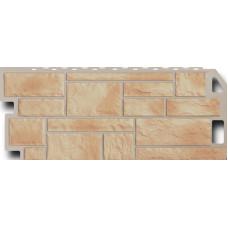 Фасадная панель FineBer Камень  Бежевый (470*1137мм)