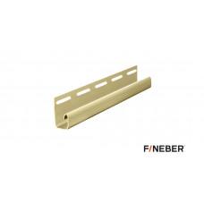 J-планка FineBer кремовый 3,05 м (40шт)