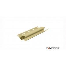 Внутренний угол FineBer кремовый 3,05 м. (10шт)