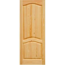 Дверное полотно Классика АВ с перемычкой ДГ-6