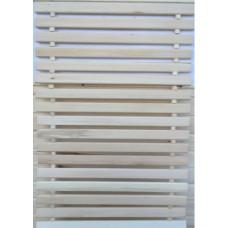 Коврик деревянный 500*1,5 м липа-осина Ш-120 2207