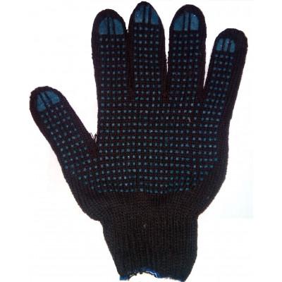 """Перчатки с ПВХ (""""Зима"""" 300 текс) черные"""