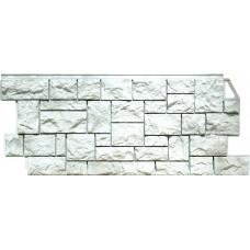 Фасадная панель FineBer Камень Дикий Жемчужный (463*1117мм)