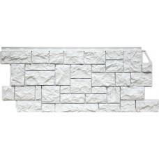 Фасадная панель FineBer Камень Дикий Мелованный (463*1117мм)