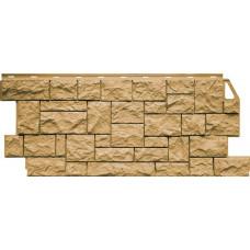 Фасадная панель FineBer Камень Дикий Песочный (463*1117мм)