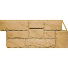 Фасадная панель FineBer Камень Крупный Песочный (452*1080мм)