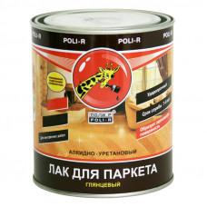 """Лак """"ПОЛИ-Р"""" паркетный глянц.  0,75л"""