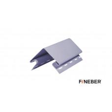 Наружный угол FineBer серо-голубой 3,05м (5шт)