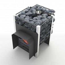 Печь банная Жара-Люкс 10 с закрытой каменкой+воронка (4-10м3)