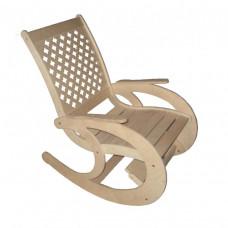 Кресло-качалка перфорированная спинка