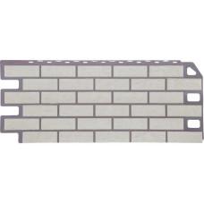 Фасадная панель FineBer Кирпич мелованный белый (470*1137мм)