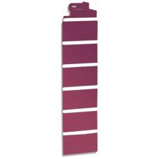 Угол наружный Кирпич-красный (115*115мм)