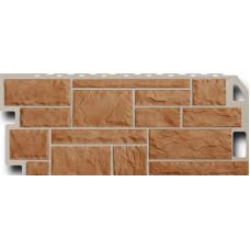 Фасадная панель FineBer Камень  Терракотовый (470*1137мм)