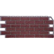 Фасадная панель FineBer Кирпич красный (470*1137мм)