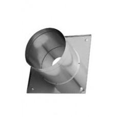 Потолочно-проходной узел (нерж. сталь 0,5мм) Ф115