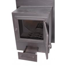 Печь банная Жара-Стандарт 500У с топочным коробом 250мм (10-26м3)