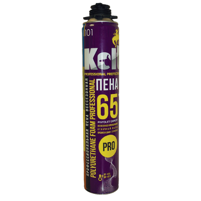Монтаж. пена KOLT 65 проф. всесезонная 950г.