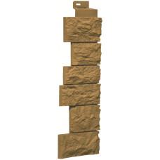 Угол наружный Камень дикий-песочный (143 x 485 мм)