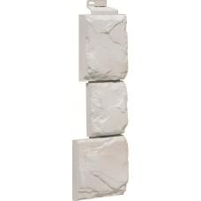 Угол наружный Камень крупный-мелованно белый