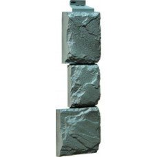 Угол наружный Камень крупный-серо-зеленый
