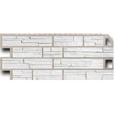 Фасадная панель FineBer Сланец мелованный белый (470*1137мм)
