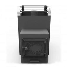 Печь банная Жара-Малютка 500У с топочным коробом 250мм (6-16м3)