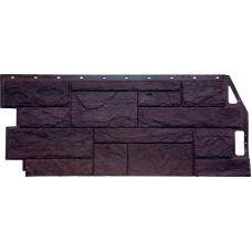 Фасадная панель FineBer Камень Природный коричневый (447 х 1085 мм)