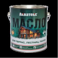 """Акватекс масло для терас,лестниц,полов """"Рогнеда"""" 2,5 л"""