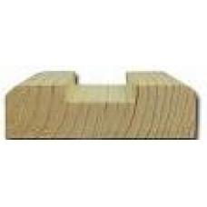 Планка подперильная для плоской балясины сосна 18х45 Вологда (3,0м)
