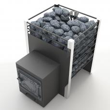 Печь банная Жара-Люкс  20 с закрытой каменкой+воронка (10-20м3)