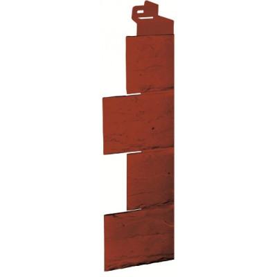 Угол наружный Камень-красно-коричневый (115*115мм)