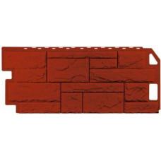 Фасадная панель FineBer Камень  Красно-коричневый (470*1137мм)