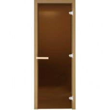Дверь DoorWood стекло Бронза Матовая 190*70