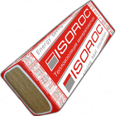 Изорок (Изолайт) 100мм*1000*500 пл.50кг/м3 (2м2/уп) /4 плиты