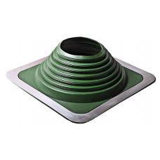 Уплотнитель кровельный №7 прямой силикон 157-280 мм зеленый