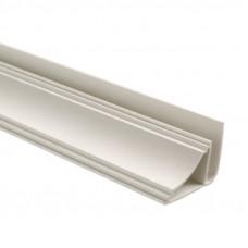 1401В/3м Плинтус потолочный (галтель) бел.