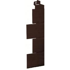 Угол наружный Камень-коричневый (115*115мм)
