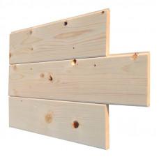Панели из дерева (штиль) С 12,5х96(88) х 3000 (10) ЦСК