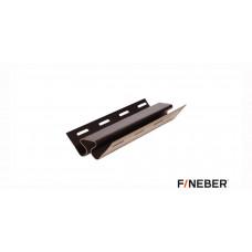 Внутренний угол FineBer Plus Темный Дуб 3,05 м (10шт)
