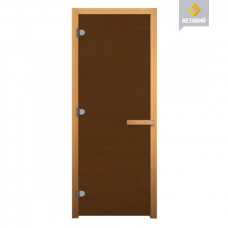 Дверь Везувий Бронза  (8мм.3 петли,хвоя)1900х700