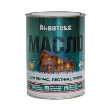 """Акватекс масло для терас,лестниц,полов """"Рогнеда""""  0,75л"""