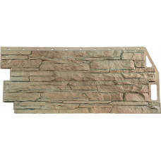 Фасадная панель Скала Песочная (459 х 1094 мм)